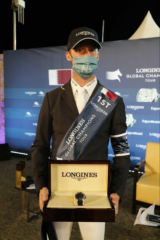 Longines Show Jumping Event: Doha hosted the world's best riders and horses for the launch of the new Longines Global Champions Tour season 3