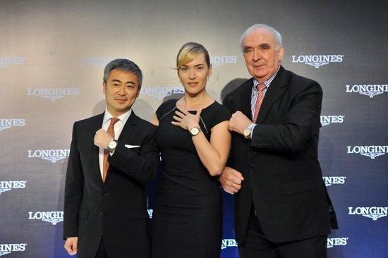 Longines Corporate Event: Kate Winslet reveals the new Longines Saint-Imier Collection in Shanghai 18