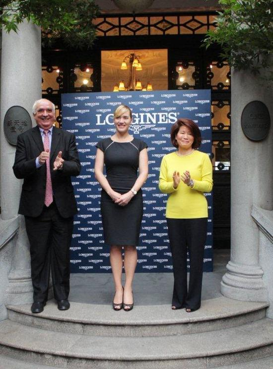 Longines Corporate Event: Kate Winslet reveals the new Longines Saint-Imier Collection in Shanghai 15