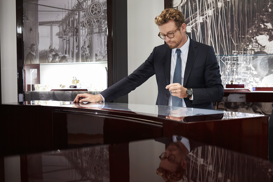 Longines Corporate Event: Simon Baker discovers the Longines universe in Saint-Imier 9