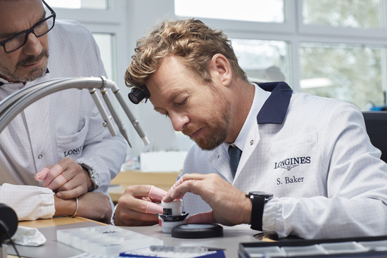 Longines Corporate Event: Simon Baker discovers the Longines universe in Saint-Imier 10