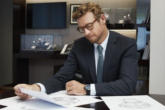 Longines Corporate Event: Simon Baker discovers the Longines universe in Saint-Imier 1