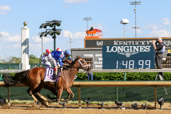 Longines Flat Racing Event: Longines timed the victory of Medina Spirit in the 147th Kentucky Derby 2