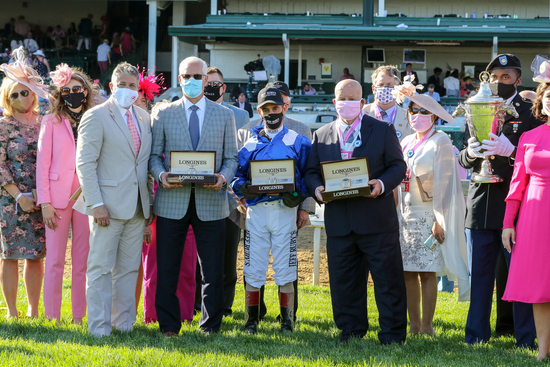 Longines Flat Racing Event: Longines timed the victory of Medina Spirit in the 147th Kentucky Derby 1