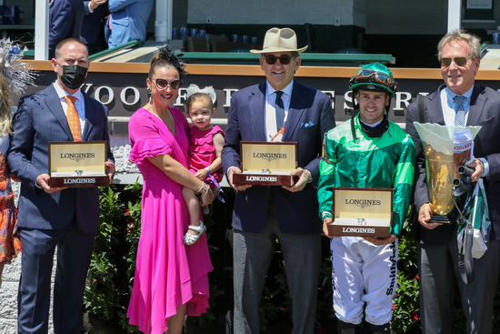 Longines Flat Racing Event: Longines timed the victory of Medina Spirit in the 147th Kentucky Derby 4