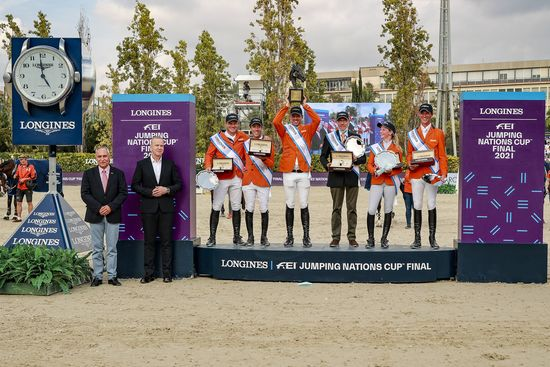 Longines Show Jumping Event: The world's elite riders return to the magnificent city of Barcelona to contend for the Longines FEI Jumping Nations Cup Final  4