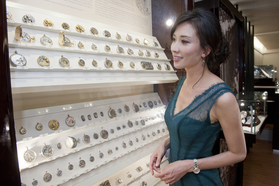 Longines Corporate Event: Chi-Ling Lin tours Longines 3