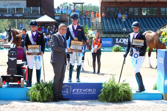 Longines Show Jumping Event: The FEI World Equestrian Games ended beautifully with Germany topping the medal table   13