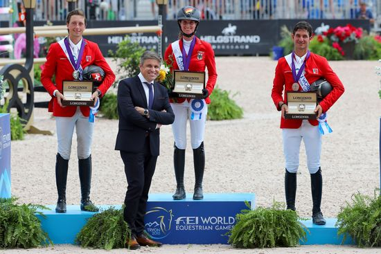 Longines Show Jumping Event: The FEI World Equestrian Games ended beautifully with Germany topping the medal table   2