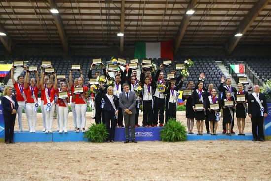 Longines Show Jumping Event: The FEI World Equestrian Games ended beautifully with Germany topping the medal table   20