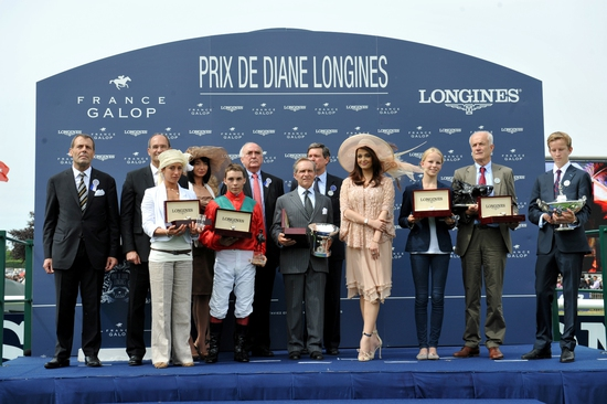 Longines Flat Racing Event: Prix de Diane Longines:  a weekend tinged with elegance 12