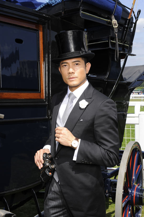 Longines Flat Racing Event: A day of glamour at Ascot with Aaron Kwok, Longines ambassador of Elegance 3