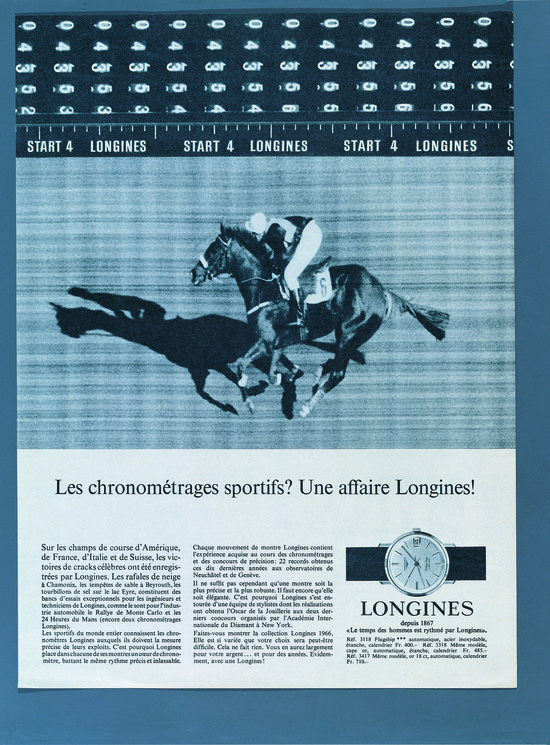 Longines Flat Racing Event: Longines: new title sponsor of the Grosser Preis von Baden 2