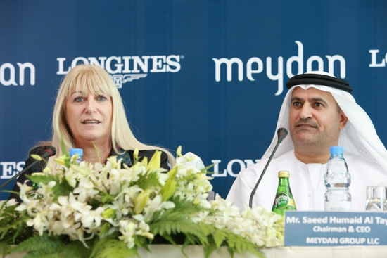 Longines Flat Racing Event: Longines proclaims long-term partnership with the elite Meydan Group 1