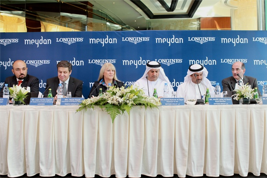 Longines Flat Racing Event: Longines proclaims long-term partnership with the elite Meydan Group 3