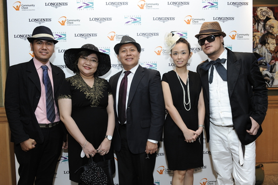 Longines Flat Racing Event: LONGINES SINGAPORE GOLD CUP 2011 raises S$241,136 for the Chaoyang School 3