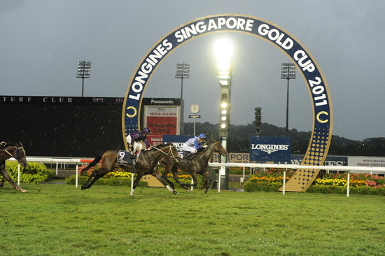 Longines Flat Racing Event: LONGINES SINGAPORE GOLD CUP 2011 raises S$241,136 for the Chaoyang School 14