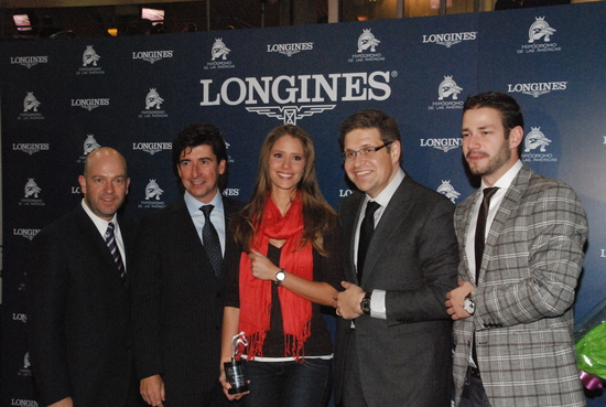 Longines Flat Racing Event: Jockey J.A. Ambrosio and Sarkozy win the Gran Premio Longines in Mexico 3