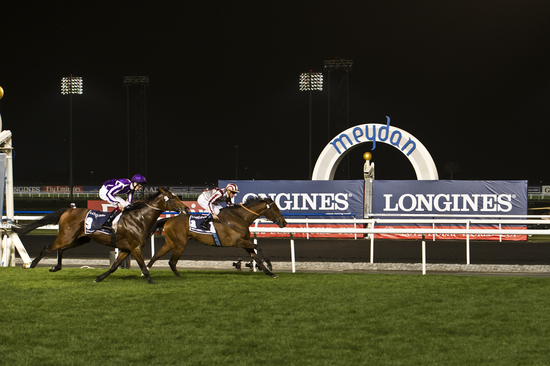 Longines Flat Racing Event: Longines, official timekeeper of the Dubai World Cup 2012: Elegance and performance at the World's Richest Race 1