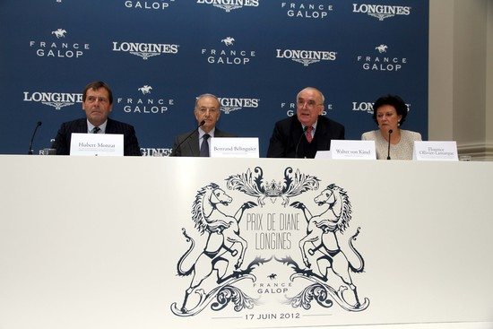 Longines Flat Racing Event: Racing and elegance at the Prix de Diane Longines – Sunday, 17th June 2012 at 1