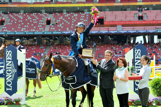 Longines Show Jumping Event: Enjoying the beauty of equestrian sport at the Longines Equestrian Beijing Masters 3