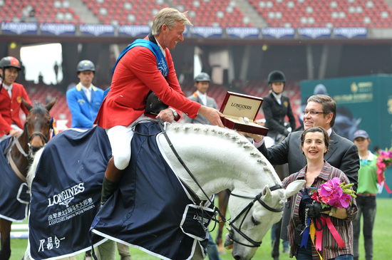 Longines Show Jumping Event: Enjoying the beauty of equestrian sport at the Longines Equestrian Beijing Masters 5