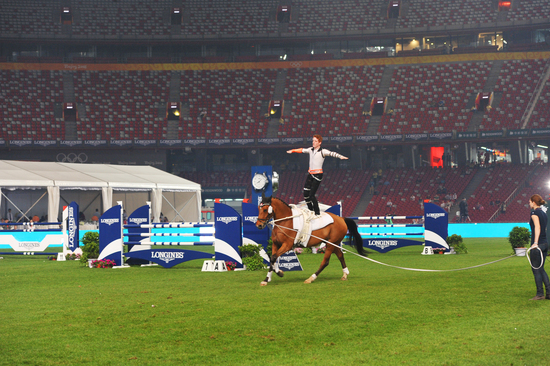 Longines Show Jumping Event: Enjoying the beauty of equestrian sport at the Longines Equestrian Beijing Masters 6