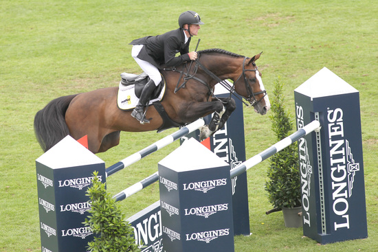 Longines Show Jumping Event: Nations Cup – Longines Press Award for Elegance: Intermediate ranking 4