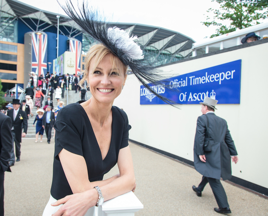 Longines Flat Racing Event: Royal Ascot 2012 - An elegant day at the races with Longines Ambassador of Elegance Ingeborga Dapkunaite 2