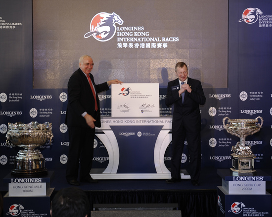 "Longines Flat Racing Event: Longines and The Hong Kong Jockey Club announce their partnership for the ""Longines Hong Kong International Races"" 4"