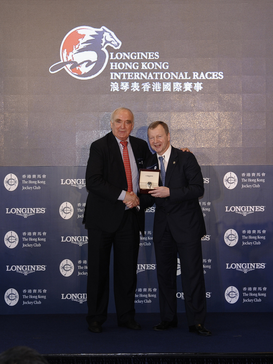 "Longines Flat Racing Event: Longines and The Hong Kong Jockey Club announce their partnership for the ""Longines Hong Kong International Races"" 6"