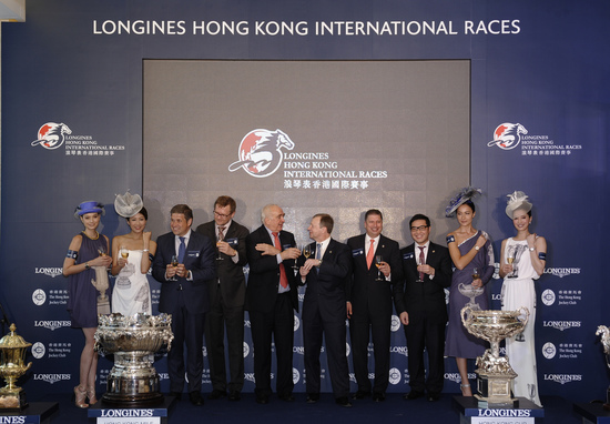 "Longines Flat Racing Event: Longines and The Hong Kong Jockey Club announce their partnership for the ""Longines Hong Kong International Races"" 8"