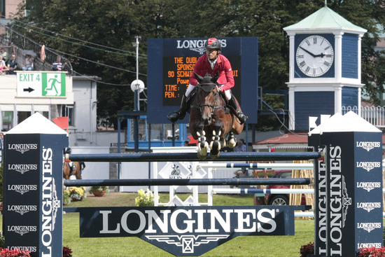 Longines Show Jumping Event: Longines Press Award for Elegance 2012 1
