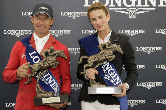 Longines Show Jumping Event: Longines Press Award for Elegance 2012 5