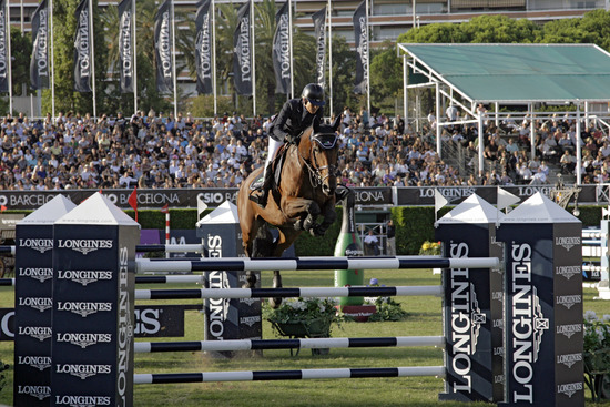 Longines Show Jumping Event: Eugenie Angot wins the Longines Queen's Cup of the CSIO Barcelona 2012 1