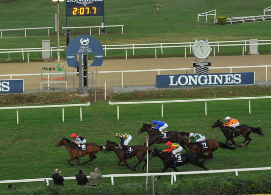 Longines Flat Racing Event: Andrea Atzeni wins the Grand Prix Longines Lydia Tesio on Sortilege 2