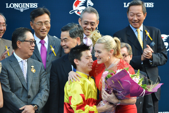 Longines Flat Racing Event: Elegance and thrilling races at the Longines Hong Kong International Races with the presence of Kate Winslet 5