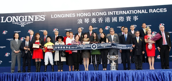 Longines Flat Racing Event: Elegance and thrilling races at the Longines Hong Kong International Races with the presence of Kate Winslet 6