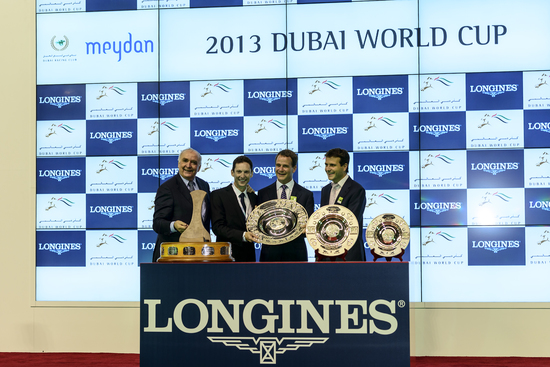 Longines Flat Racing Event: Longines adds its touch of elegance to the Dubai World Cup 2