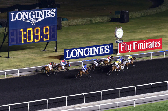 Longines Flat Racing Event: Longines adds its touch of elegance to the Dubai World Cup 7
