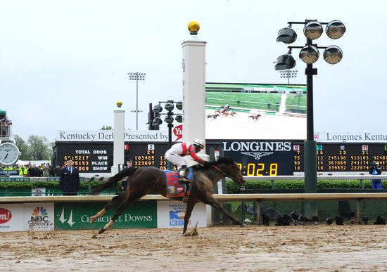 Longines Flat Racing Event: Longines awards timepieces to the winners of the Kentucky Derby 1