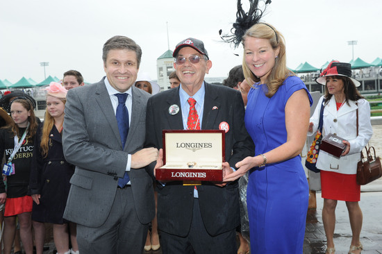 Longines Flat Racing Event: Longines awards timepieces to the winners of the Kentucky Derby 4