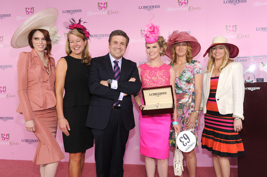 Longines Flat Racing Event: Longines awards timepieces to the winners of the Kentucky Derby 8