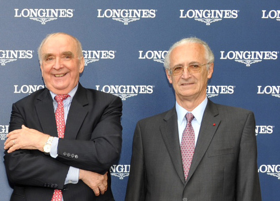 Longines Flat Racing Event: A partnership is signed between The International Federation of Horseracing Authorities and Longines 1