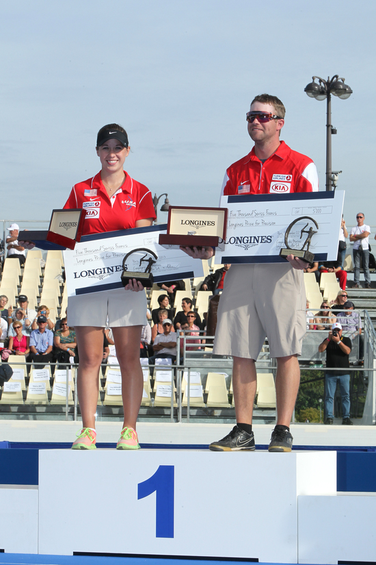 Longines Archery Event: The Longines Prize for Precision awarded in Paris 1
