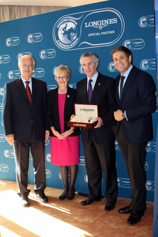Longines Flat Racing Event: Jim Bolger receives the first Longines and IFHA International Award of Merit 2