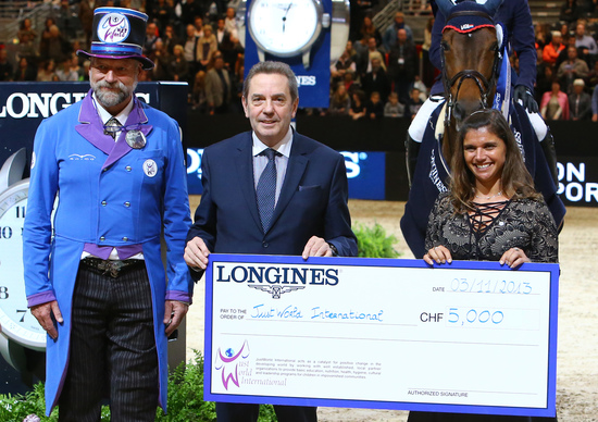 Longines Show Jumping Event: Longines  – Official Timekeeper of Equita'Lyon 8