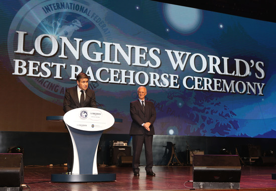 Longines Flat Racing Event: Longines and the IFHA award the 2013 Longines World's Best Racehorse title 3