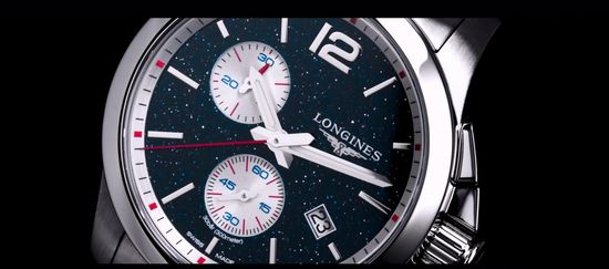 Longines Conquest Chronograph by Mikaela Shiffrin Watch 5