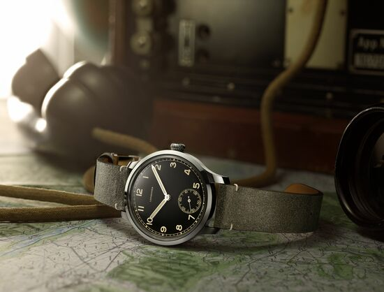 Longines The Longines Heritage Military 1938 Watch 2